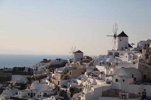 Oia-s-panorama-santorini-greece Fotografia