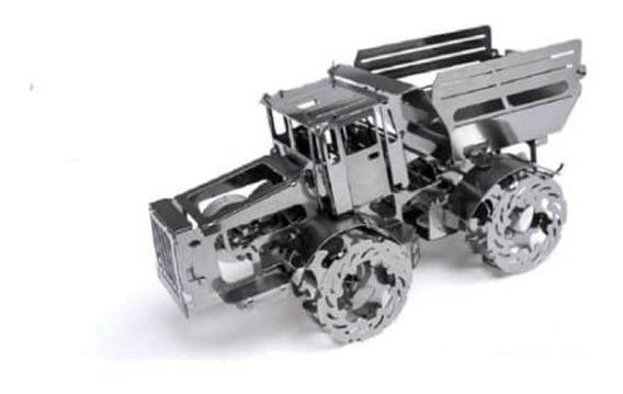 Tractor Camión Acero Armar Bloques Modelismo Juguete Escala