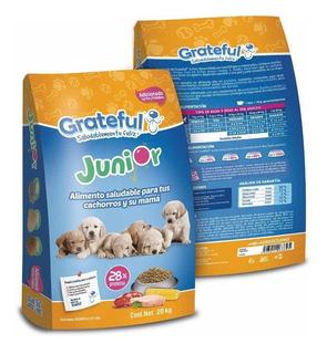 Grateful Cachorro 20kg 28% Proteína Alimento Para Perro