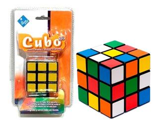 Cubo Magico 3d 3x3 Simil Rubik Duende Azul Cod 6014 Bigshop