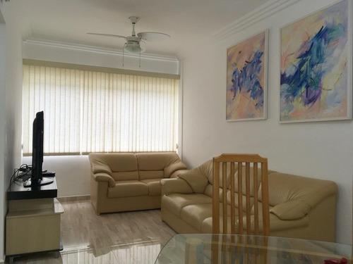 Apartamento Com 2 Dormitórios À Venda, 75 M² Por R$ 330.000,00 - Jardim Tejereba - Guarujá/sp - Ap11155