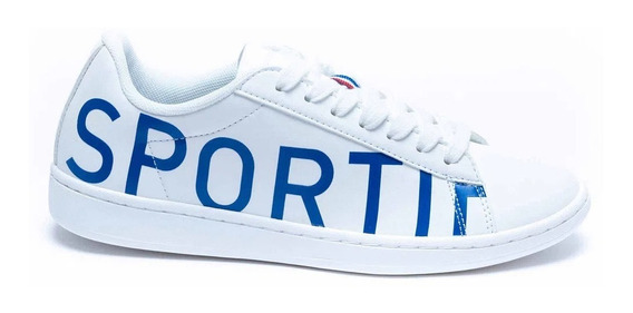 Zapatillas Le Coq Sportif Courtset Logo White/blue