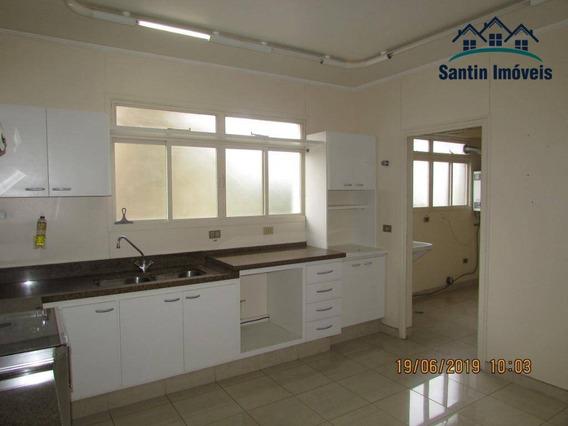 Apartamento Com 4 Dormitórios(02 Suítes ) Fino Acabamento,03 Vagas Para Alugar, 150 M² Por R$ 2.500/mês - Vila Assunção - Santo André/sp - Ap1156