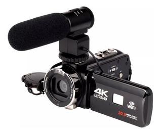 Video Cámara Digital 4k Wifi Ultra Hd 1080 P