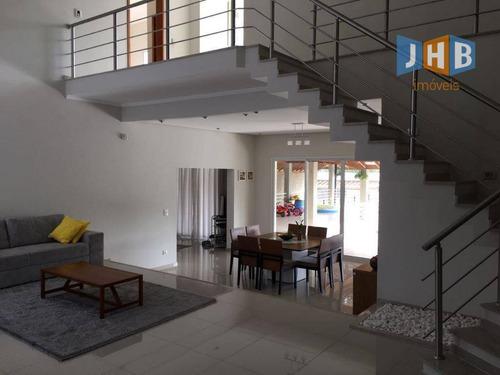 Sobrado Com 4 Dormitórios À Venda, 560 M² Por R$ 1.300.000,00 - Condomínio Parque Vale Dos Lagos - Jacareí/sp - So0488