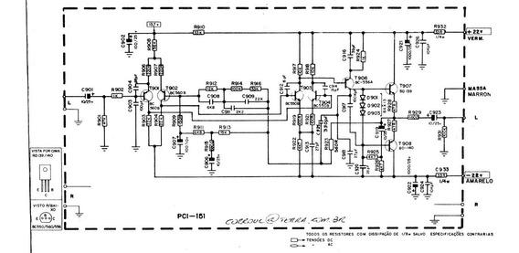 Manual(esquema Elétrico) Receiver Cce Sr-7000 (arquivo Jpeg)