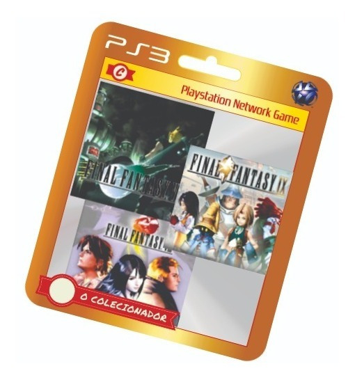 Final Fantasy 7+8+9 Em Oferta! Ps3