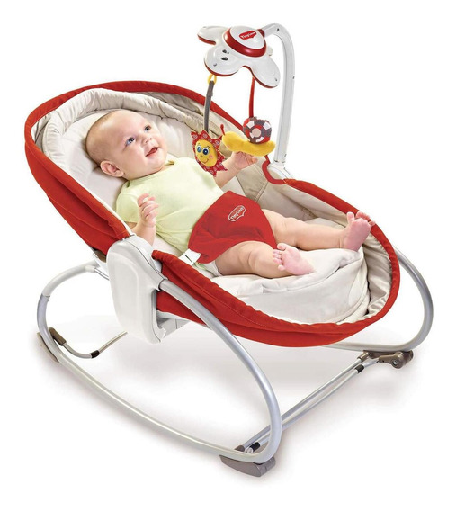 Cuna Mecedora Bouncer Rocker Napper 3-en-1