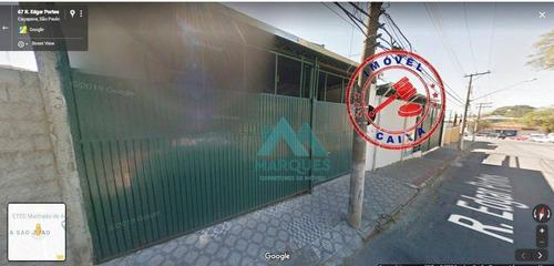 Imagem 1 de 6 de Galpão Da Caixa No Centro De Caçapava - Ga0002