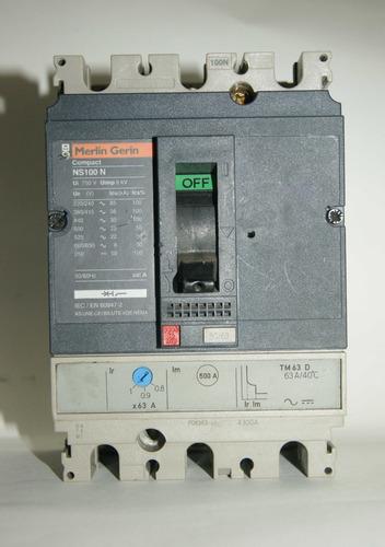 Totalizador 50/63 Amp Trifasico  Ns100n  Tm 63d. Cod. 00091