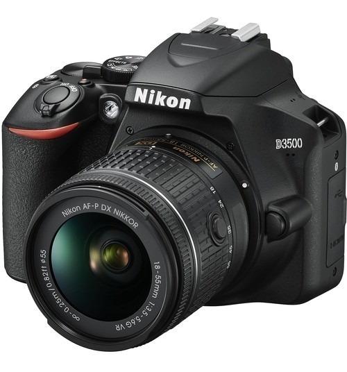 Camera Nikon D3500 + Lente Nikon 18-55 (lancamento)