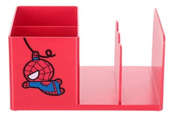 Porta-caneta Organizador De Escritório Miniso - Homem Aranha