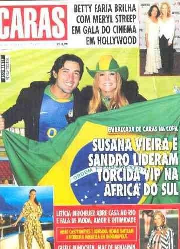 Revista Caras 867/2010 - Ana Arósio/deborah Secco/xuxa