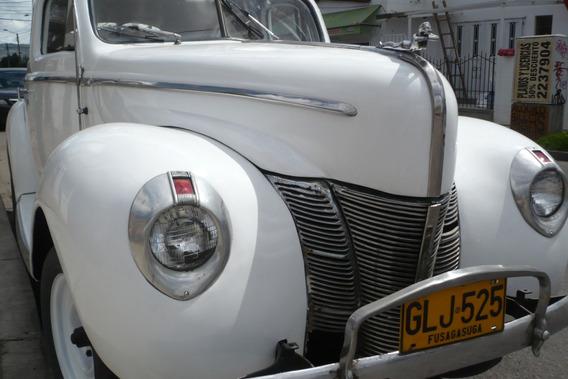 Vendo - Permuto Ford Tudor Deluxe 1939
