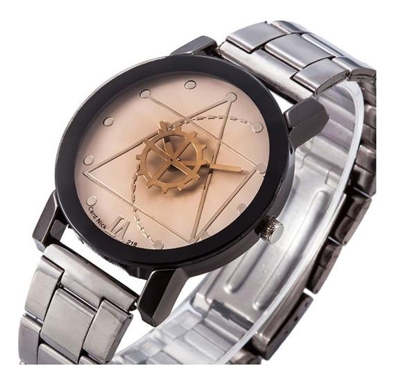 Relógio Masculino Quartzo De Luxo