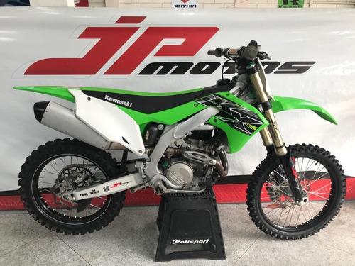 Kawasaki Kx 450 F 2019 Verde 32 Hrs De Uso