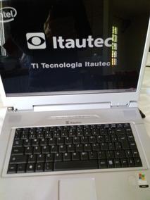Notebook Itautec Infoway W7645 Para Reparo Ou Peças