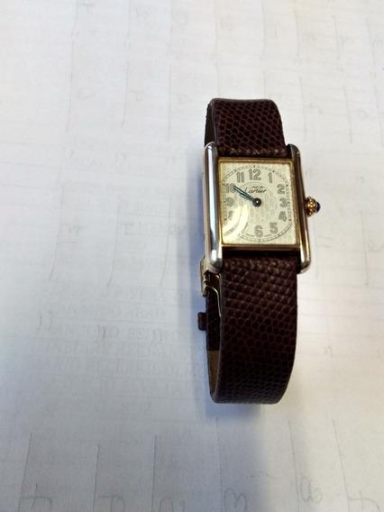 Cartier Tank Argent Original