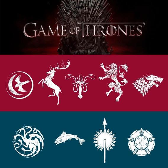 Games Of Thrones - Got Imprimibles Vector Logos