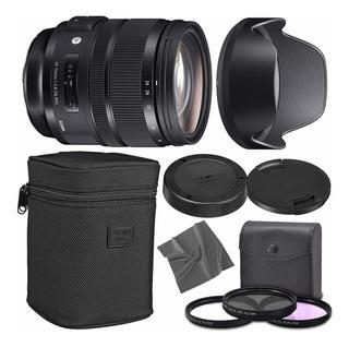 Sigma 2470°f/2,8dg Os Hsm Art Lens Para Nikon F Con