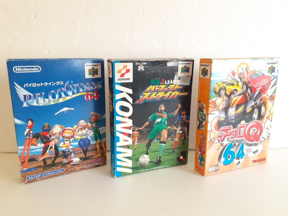 Jogos Nintendo 64 Completos Frete Gratis 12x Sem Juros