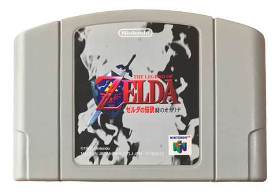 The Legend Of Zelda: Ocarina Of Time - Nintendo 64 Japones