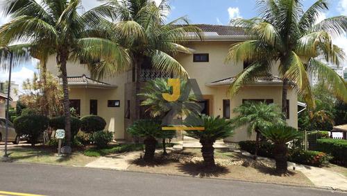 Casa Com 4 Suítes No Desejado Condomínio Bougainville - Ca12769