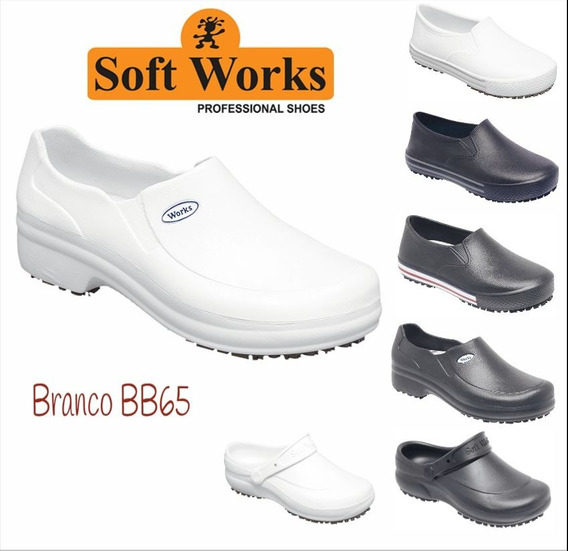 Sapato Profissional Babuch Antiderrapante Soft Works .