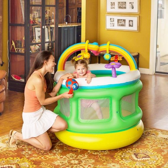 Mi Primer Gym Inflable Corralito Didáctico Bebe Proteccion