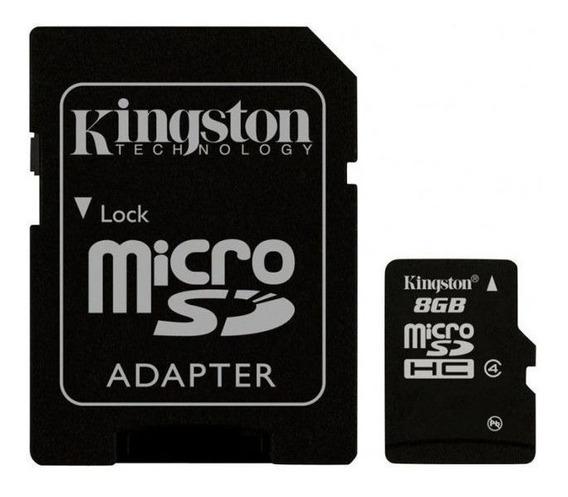 Cartão De Memória Micro Sd Hikvision 8gb + 1 Adapt Class 10