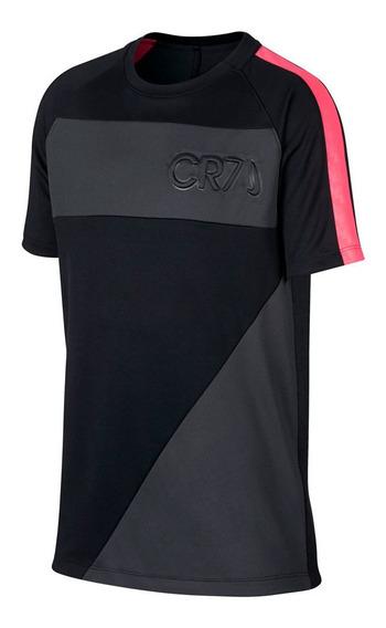 Remera Nike Cr7 Academy Niño