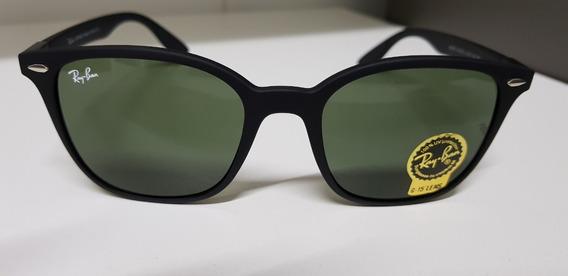 Óculos Sol Ray-ban Rb4297 Liteforce Wayfarer Verde G15