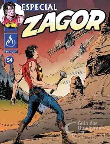 Revista Hq Gibi - Zagor Especial 54 - Quadrinhos