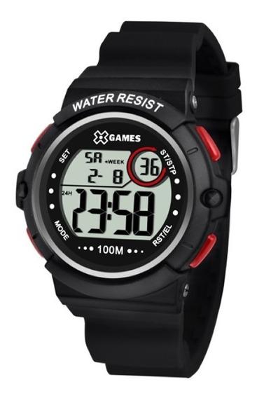 Relógio X-games Masculino Preto Xmppd495bxpx