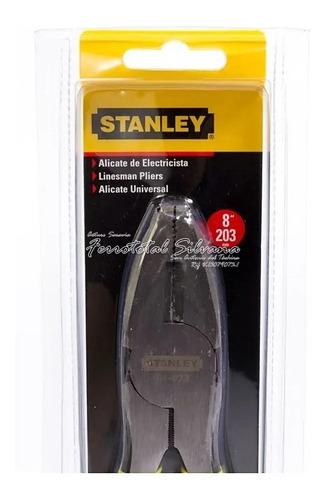 Alicate Electricista 8 Stanley 84-023 Oferta Especial
