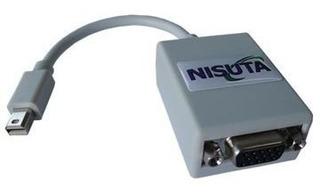 Adaptador Cable Nisuta Ns-dpvgbl Display Port Macho A Vga
