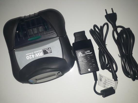 Impressora Térmica Portátil Zebra Rw420