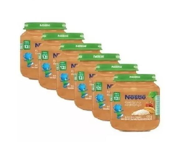 Papinha Nestlé Risotinho De Frango 6 Potes Promoção