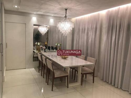 Cobertura Com 4 Dormitórios À Venda, 234 M² Por R$ 2.380.000,00 - Vila Augusta - Guarulhos/sp - Co0057