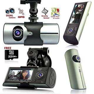 Indigi Gps Tracker Dashcam Dual Camera Driving Recorder Su