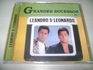 Cd Leandro E Leonardo Grandes Sucessos Vol 1 ! Original !