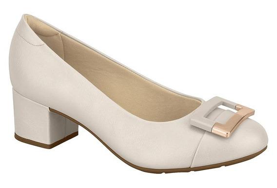 7316107 Sapato Ultraconforto Modare - Creme - 33 Ao 38