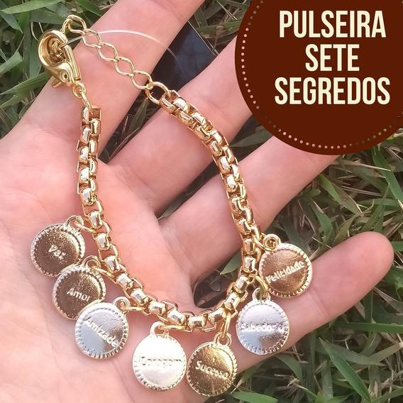 Pulseira Sete Segredos Dourado