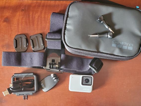 Câmera Gopro Hero 7 Silver 4k + Acessórios