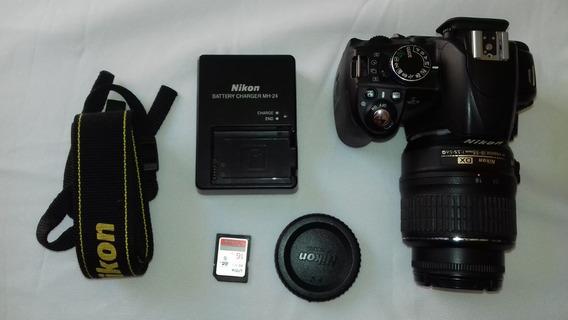 Câmera Nikon D3100 - 8569 Clicks