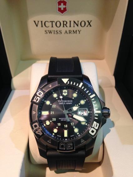 Relógio Victorinox Dive Master 241355 Black 500 Automatico