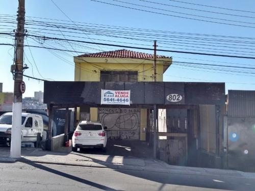 Locação Salão - Vila Das Belezas, São Paulo-sp - Rr3765