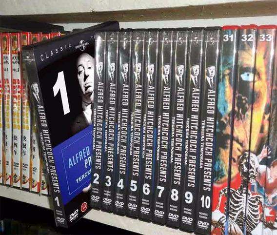 Alfred Hitchcock Presents 3a. Temporada Completa 10 Dvds