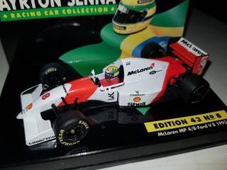 F1 - Ayrton Senna - Mclaren - 1993 - 1:43 - Última Vitória