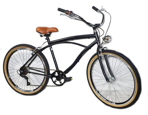 Imagem 1 de 2 de Bicicleta Aro 26 Caiçara Vintage Retrô Com Marcha E Farol